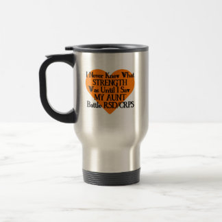 I Never Knew What Strength...Aunt...RSD/CRPS Travel Mug