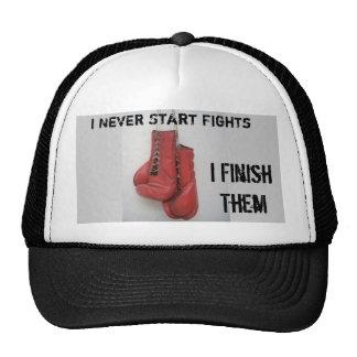 I Never Start Fights, I FinishThem Hat