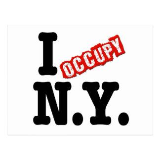 I Occupy New York Postcard