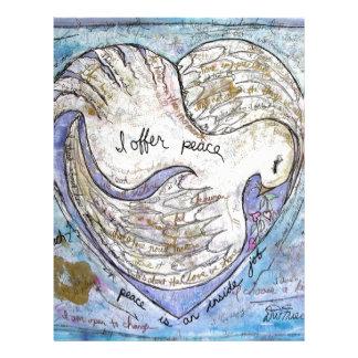 I offer peace letterhead