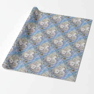 I offer peace wrapping paper