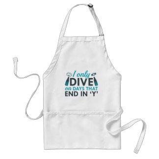 I Only Dive Standard Apron
