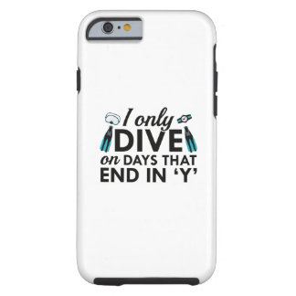 I Only Dive Tough iPhone 6 Case
