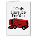I Only Have Ice For You Greeting Card