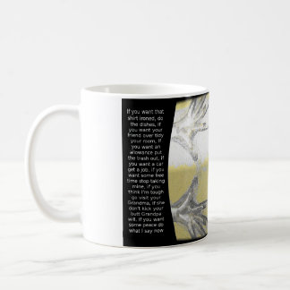 I only have one pair of hands ! coffee mug