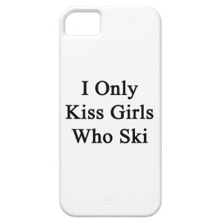 I Only Kiss Girls Who Ski iPhone 5 Covers
