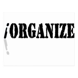 I Organize Postcard