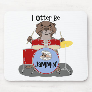I Otter Be Jammin' Mouse Pad