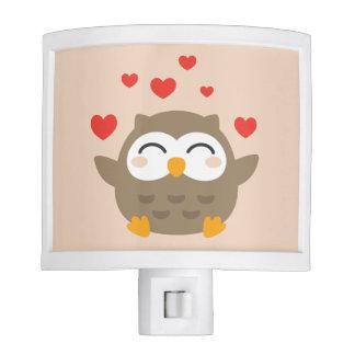 I Owl You Illustration Nite Lites