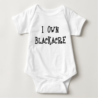 I Own Blackacre Baby Bodysuit
