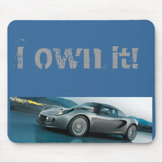 I Own it Lotus Mouse Pad