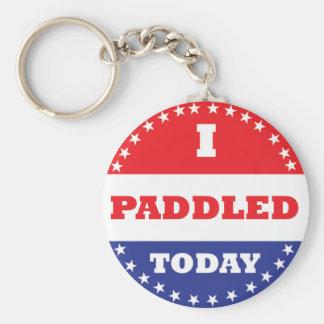 I Paddled Today Basic Round Button Keychain
