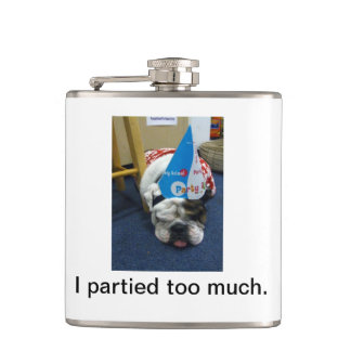I partied too much Flask