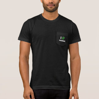 I # PASSWORDS (2 Line) - Men's Pocketed T-Shirts