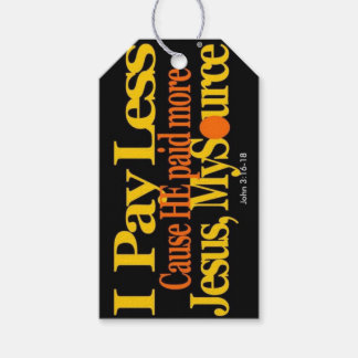 I Pay Less Jesus Paid More Gift Tag/Mini-Cards Pack Of Gift Tags