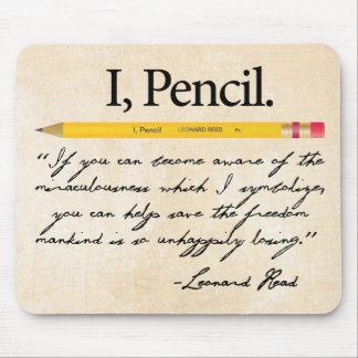 I, Pencil Leonard Read Mousepad