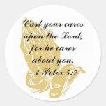 I Peter 5:7 Sticker
