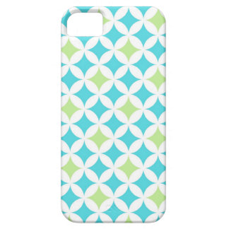 i Phone 5 Teal Geometric Pattern Case For The iPhone 5