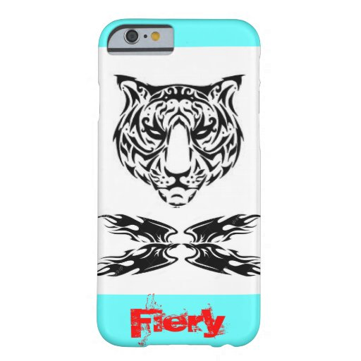 I Phone 6 case with Tiger in tribal art. iPhone 6 Case