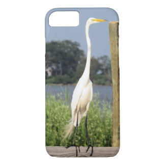 I Phone 7 Case with Egret Picture