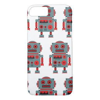 I Phone 7 mobile phone covering with robot sample Case-Mate iPhone Case