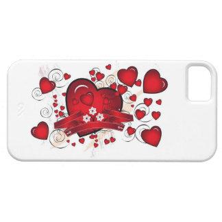 I-PHONE CASE HEARTS GALORE