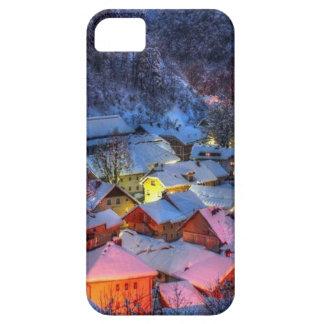 "I-phone case ""Winter Alps"""