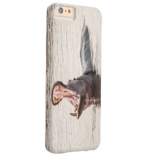 I phone S6 Protective Case with Yawning Hippo