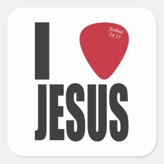 I Pick Jesus Stickers