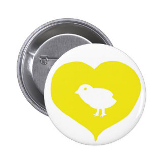 I Pin d'oiseaux de coeur Pin's