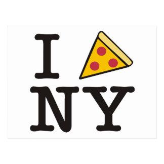 I pizza NY Postcard