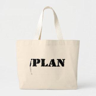 I Plan Tote Bags