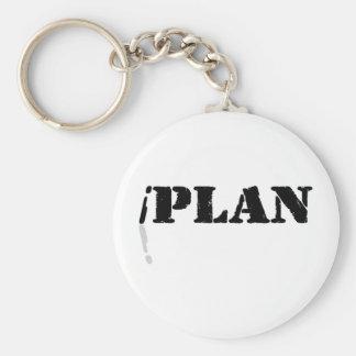 I Plan Keychain