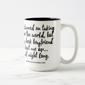 I Planned on Taking Over the World... Two-Tone Coffee Mug