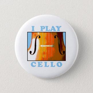 I Play Cello 2 Inch Round Button