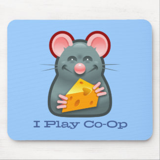 I Play Co-Op Ratpad Mouse Pad