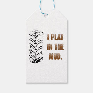I Play In The Mud Gift Tags