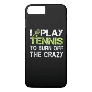 I PLAY TENNIS iPhone 7 PLUS CASE