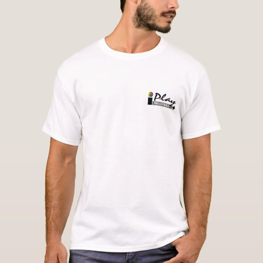 I Play Volleyball Splash T-Shirt