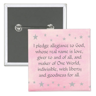 I pledge allegiance to God, Silver Stars Buttons