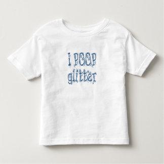 I Poop Glitter (blue) Toddler T-shirt
