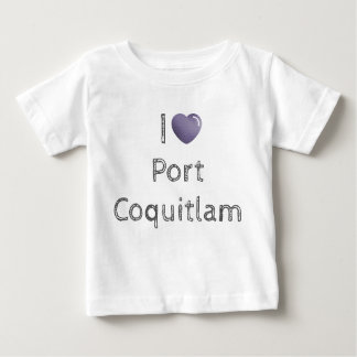 I 💜 Port Coquitlam Baby T-Shirt