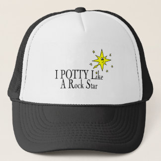 I POTTY Like A Rock Star Trucker Hat