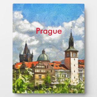 I ♥ Prague Plaque