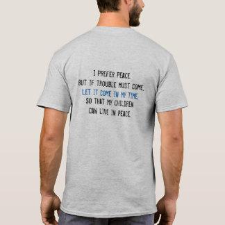 I Prefer Peace Men's T-Shirt