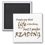 I Prefer Reading