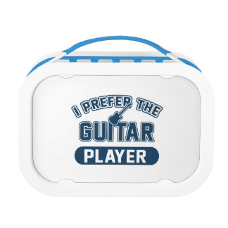 I Prefer The Guitar Player Lunchboxes