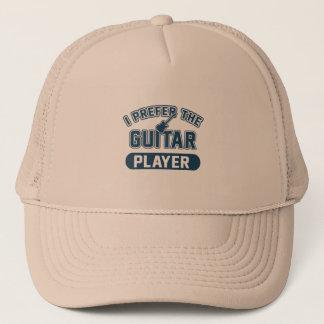 I Prefer The Guitar Player Trucker Hat