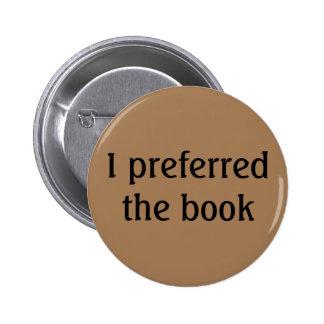 I preferred the book 2 inch round button