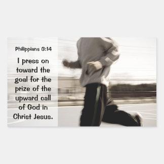 I press on toward the goal Philippians 3:14 Bible